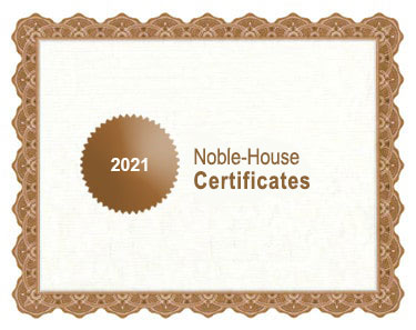 Noble-House bio certificates 2021