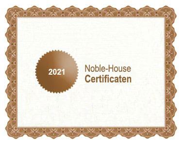 Noble-House bio certificaat 2021