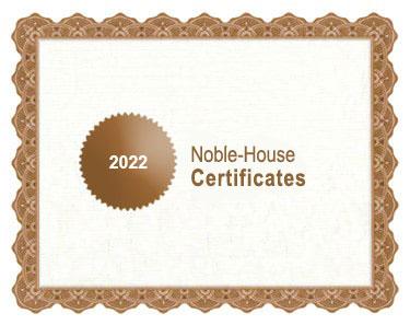 Noble-House bio certificates 2022