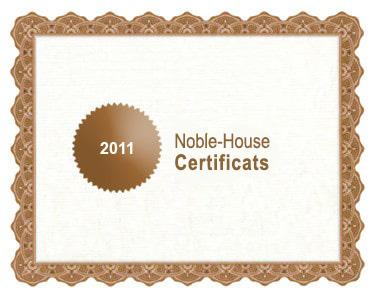 certificats bio amanprana 2011