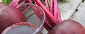 Recept met Huiles oméga: Jus pur désintoxication à la betterave rouge