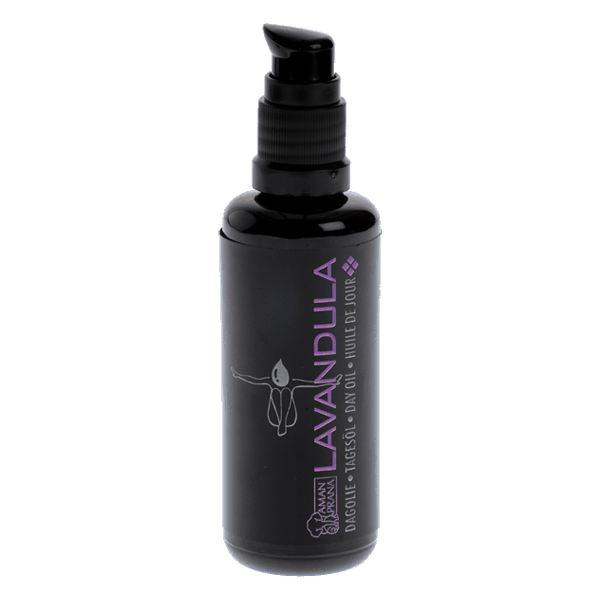 natürliches Gesichtsöl Lavandula von Amanprana. Zur natürlichen Körperpflege.