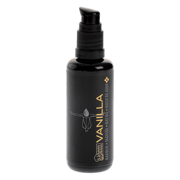 natürliches Gesichtsöl vanilla von Amanprana. Zur natürlichen Körperpflege.