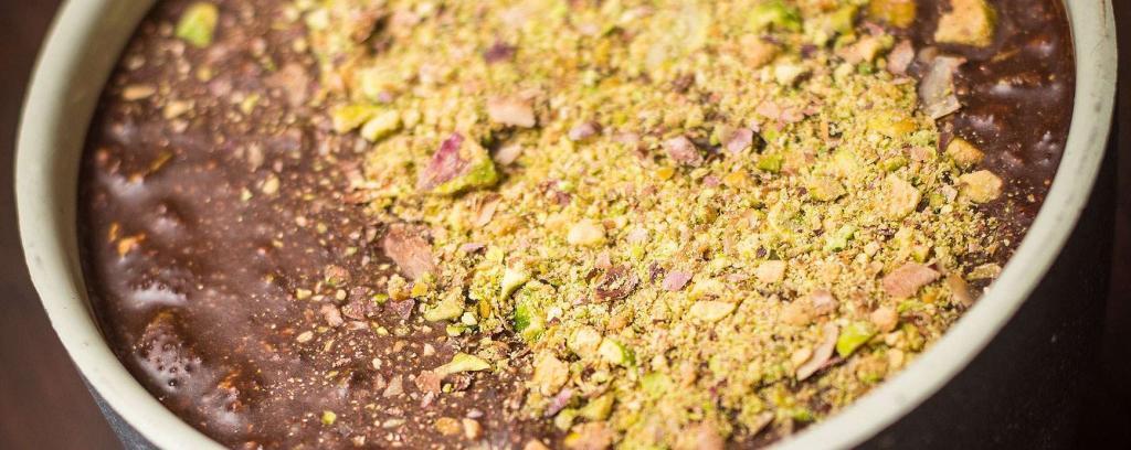 Le chocolat sain à tartiner à l'huile de coco et aux pistaches