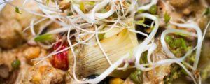 Recept met Verde Salud olijfolie: Pizza American style met guacamole en veganistische kaas
