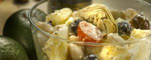 Griekse aardappelsla