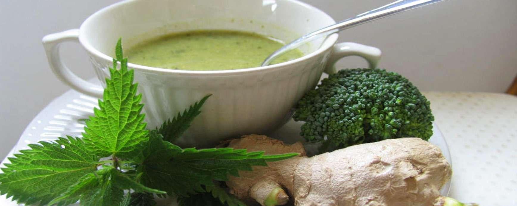 Hartverwarmend groen soepje