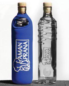 La bouteille Eco Respekt bleu