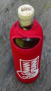 La bouteille Eco Respekt vue de dessus