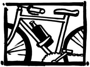 La bouteille Eco Respekt vélo