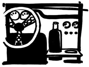 La bouteille Eco Respekt voiture