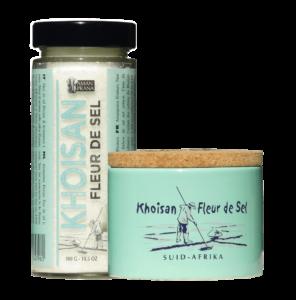 Khoisan Fleur de sel 300gr y 200gr frente