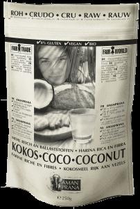 bio kokosmeel/kokosvezels van Amanprana
