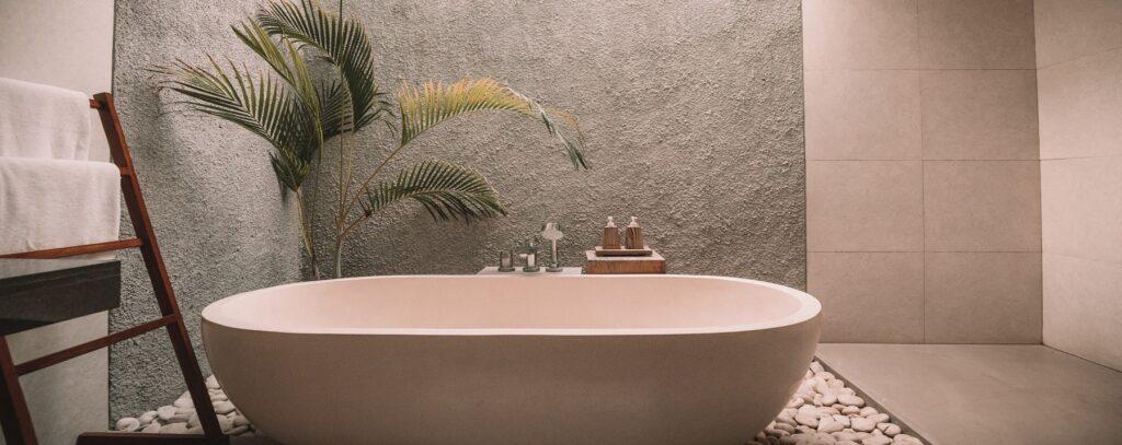 biologische kokosolie in de badkamer