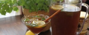 Recept met Coconut Blossom Sugar: Lemon Spice & Herbs Ice Tea