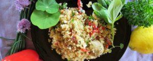 Recept met Omega olie: Quinoa maaltijdsalade vol antioxidanten