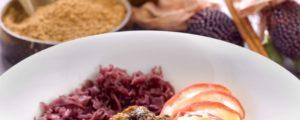 Recept met Le sucre de fleur de coco: Chou rouge aux pommes, à la cannelle et au sucre de fleur de coco