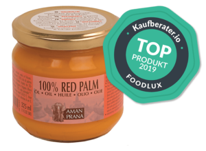 Red Palm Oil 325 ml + badge