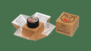 Rudolf respira libremente paquete abierto
