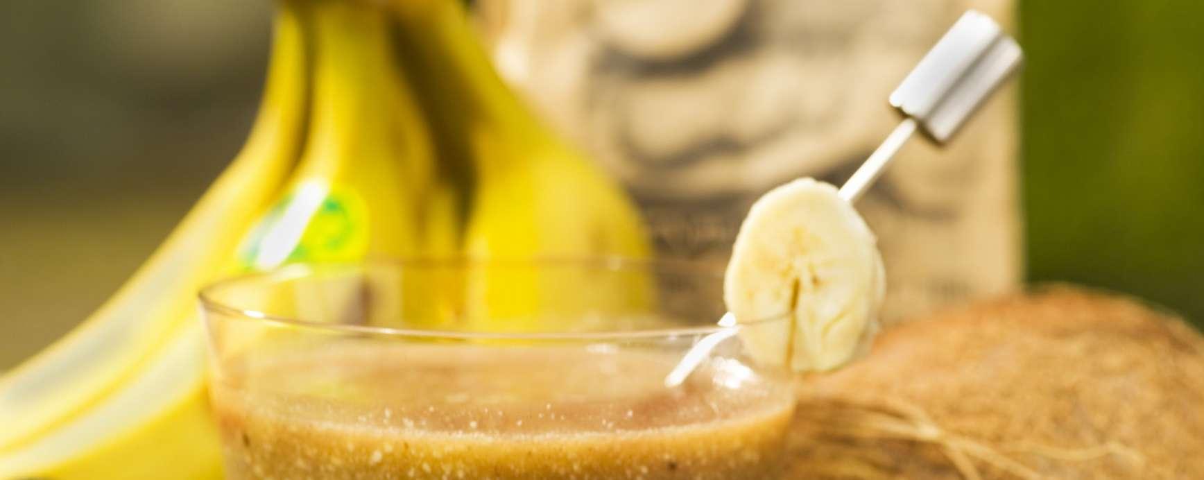 Smoothie van bananen