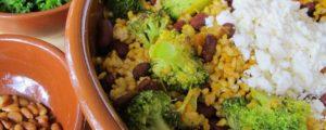 Vegetarische eiwitbom