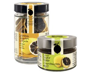 Amanprana's dried black lemon range