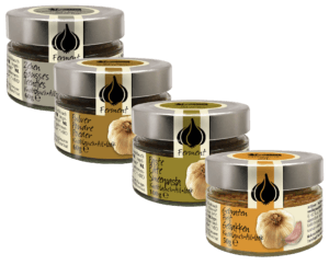 Amanprana's black garlic range